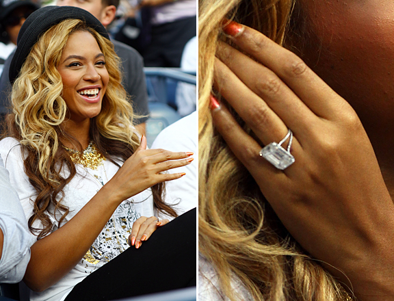 Beyonc Knowles Wedding Ring Style Folio Jewelry